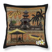 This Is Bali Throw Pillow
