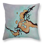 This Is Not Indochina Throw Pillow