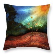 This Is The Day Throw Pillow by Shevon Johnson