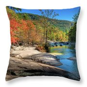 This Is Wilson Creek Throw Pillow