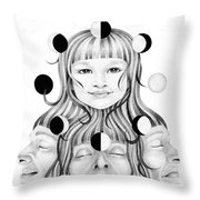 This Life In My Hands Excerp Throw Pillow
