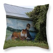 This Old Barn 3 Throw Pillow