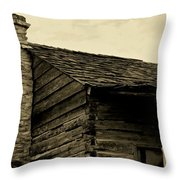 This Old Cabin Throw Pillow