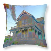 This Old House Fantasy Throw Pillow