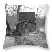 This Old Shack Throw Pillow