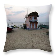 This Side Of Horizon Throw Pillow
