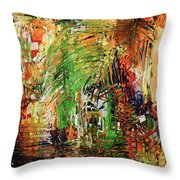 This Was The Start Throw Pillow