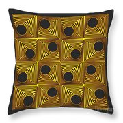 This Way And That, No. 1  Throw Pillow