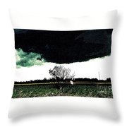 This Darkness Is But For A Time Throw Pillow