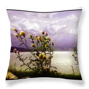 Thistledown Time Throw Pillow