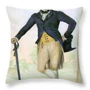 Thomas Bruce, 1766-1841 Throw Pillow