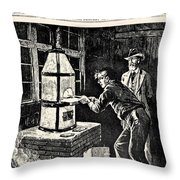 Thomas Edison (1847-1931) Throw Pillow
