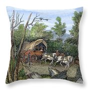 Thomas Hookers Migration Throw Pillow