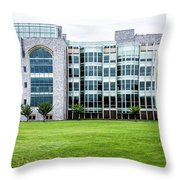 Thomas Jefferson Library At West Point Throw Pillow
