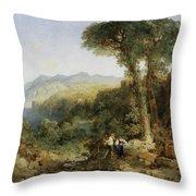 Thomas Moran Throw Pillow