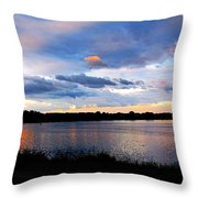Thompson Lake 3 Throw Pillow