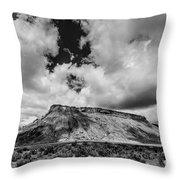 Thompson Springs Gathering Thunderstorm - Utah Throw Pillow