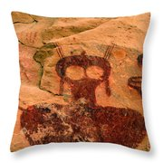 Thompsons Spring Shaman Throw Pillow