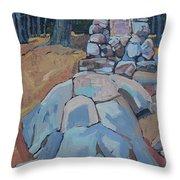 Thomson Cairn Throw Pillow