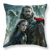 Thor 2 The Dark World 2013 Throw Pillow