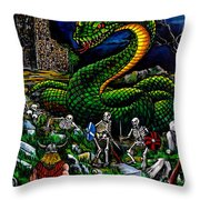 Thor Ragnarok Throw Pillow
