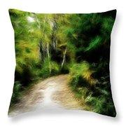 Thoreau Woods Throw Pillow