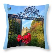 Thorn Gate Throw Pillow