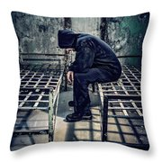 Thorns Of Punishment Throw Pillow