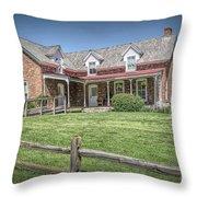 Thornton Mansion Throw Pillow