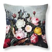 Thornton: Roses Throw Pillow