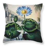 Thornton: Water Lily Throw Pillow