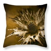 Thorny Crown Throw Pillow