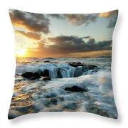 Thors Well Cape Perpetua 2 Throw Pillow