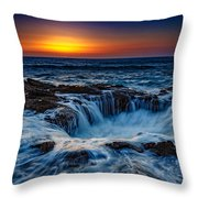 Thor's Well Throw Pillow