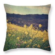 Those Lighthearted Days Throw Pillow