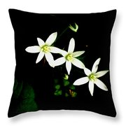 Those Little Flowers Throw Pillow