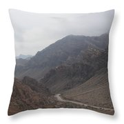 Those Mountains Throw Pillow