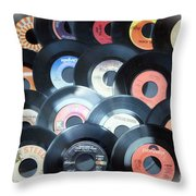 Those Oldies But Goodies Throw Pillow