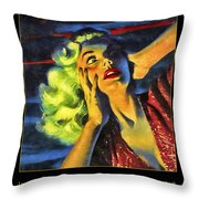 Those Voices Inside My Head Throw Pillow