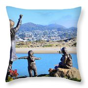Those Who Wait Throw Pillow