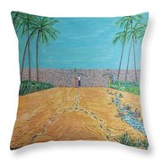 Those Who Were, Those Who Are And Those Who Will Be... Throw Pillow