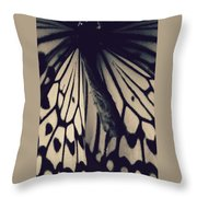 Though Beauty... Throw Pillow