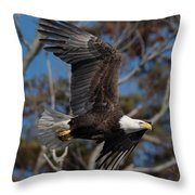 Though The Colors Throw Pillow