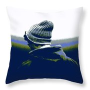 Thoughful Youth 2 Throw Pillow