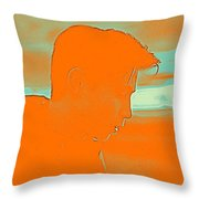Thoughful Youth 4 Throw Pillow