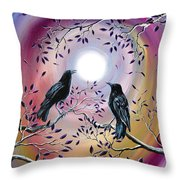Thought And Memory Throw Pillow