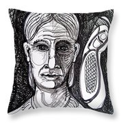 Thought Form Throw Pillow