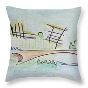 Thought Pad Series Page 1 Throw Pillow