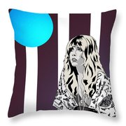 Thoughtful Stevie Throw Pillow