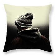 Thoughtful Youth Series 17 Throw Pillow